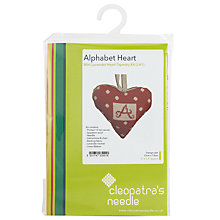 Buy Cleopatra's Needle Lavender Alphabet Heart Kit Online at johnlewis.com