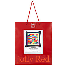 Buy Jolly Red Hearts Needlecraft Kit Online at johnlewis.com
