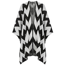 Buy Warehouse Chevron Stripe Cape, Multi Online at johnlewis.com