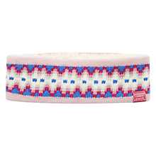 Buy Joules Orkney Pattern Headband, Pink Online at johnlewis.com