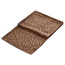 Buy Joules Julianne Leopard Wool Scarf, Taupe Online at johnlewis.com