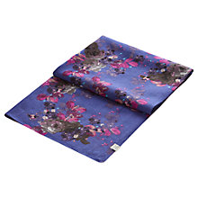 Buy Joules Julianne Posy Wool Scarf, Blue/Multi Online at johnlewis.com