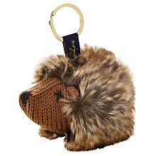 Buy Joules Coxwold Knitted Hedgehog Keyring Online at johnlewis.com