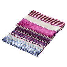 Buy Joules Orkney Snood, Navy/Multi Online at johnlewis.com