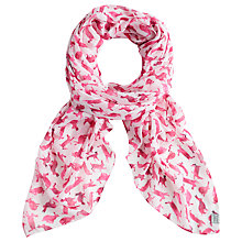 Buy Joules Wensley Scarf, Pink Hare Online at johnlewis.com