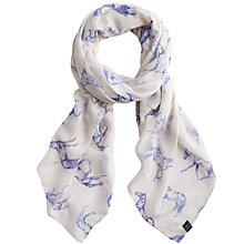 Buy Joules Wensley Scarf, Horse Cream Online at johnlewis.com