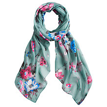 Buy Joules Wensley Scarf, Blue Posy Online at johnlewis.com