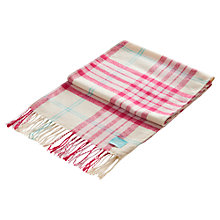 Buy Joules Bracken Check Scarf Online at johnlewis.com
