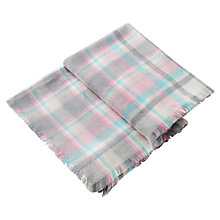 Buy Joules Heyford Soft Oversized Check Scarf Online at johnlewis.com