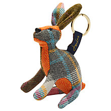 Buy Joules Tweedle Hare Keyring, Multi Online at johnlewis.com