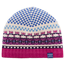 Buy Joules Orkney Beanie, Navy Online at johnlewis.com