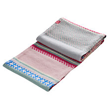 Buy Joules Orkney Scarf, Pink/Multi Online at johnlewis.com