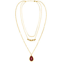 Buy Adele Marie Three Row Necklace Online at johnlewis.com