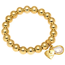 Buy Adele Marie Bead Small Heart Bracelet Online at johnlewis.com