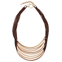 Buy John Lewis Cord Scoop Necklace Online at johnlewis.com