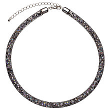 Buy John Lewis Mini Crystals Necklace, Black/Multi Online at johnlewis.com