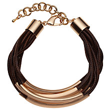 Buy John Lewis Cord Bracelet Online at johnlewis.com