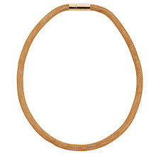 Buy John Lewis Plain Mesh Necklace Online at johnlewis.com