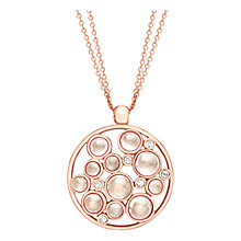 Buy London Road 9ct Gold Diamond Bubble Cluster Pendant Online at johnlewis.com
