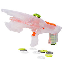 Buy John Lewis Clear Disc Blaster Rifle Online at johnlewis.com