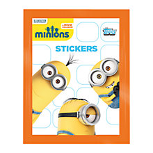Buy Minions Movie Stickers, Pack of 5, Assorted Online at johnlewis.com