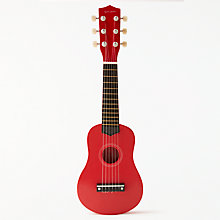 Buy John Lewis Wooden Mini Guitar Toy Online at johnlewis.com