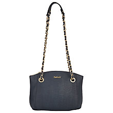 Buy DKNY Fashion Two Tone Lizard Top Zip Leather Shoulder Bag Online at johnlewis.com