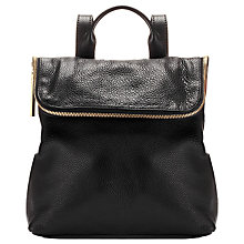 Buy Whistles Mini Verity Backpack, Black Online at johnlewis.com