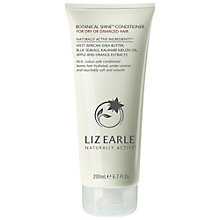 Buy Liz Earle Shine Conditioner for Dry/Damaged Hair, 200ml Online at johnlewis.com