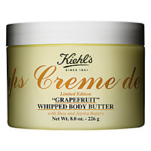 Buy Kiehl's Creme de Corps Grapefruit Whipped Body Butter, 226g Online at johnlewis.com