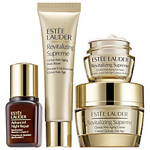 Buy Estée Lauder Revitalizing Supreme Skincare Starter Set Online at johnlewis.com