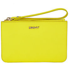 Buy DKNY Bryant Park Leather Wristlet Pouch Purse Online at johnlewis.com