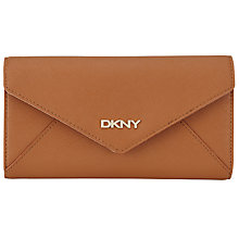 Buy DKNY Bryant Park Large Leather Envelope Purse Online at johnlewis.com