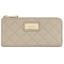 Buy DKNY Gansevoort Quilted Nappa Leather Zip Purse Online at johnlewis.com