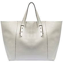 Buy Gerard Darel Soho Shopping Bag, Optic White Online at johnlewis.com