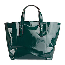 Buy Gerard Darel Greenwich Soho Lea Leather Shopper Bag, Green Online at johnlewis.com
