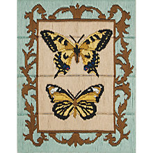 Buy Butterfly Long Stitch Embroidery Kit Online at johnlewis.com