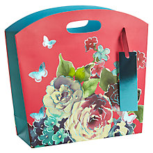 Buy John Lewis Butterfly Shimmer Gift Bag, Small Online at johnlewis.com