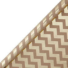 Buy John Lewis Chevron Wrapping Paper, 3m Online at johnlewis.com