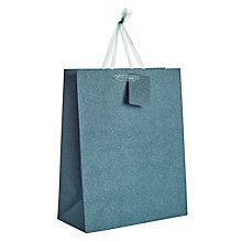 Buy John Lewis Glitter Gift Bag, Medium Online at johnlewis.com