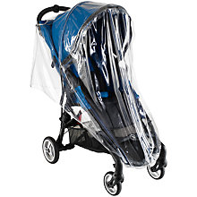 Buy Baby Jogger City Mini Zip Pushchair Raincover Online at johnlewis.com
