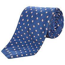 Buy Jaeger Textural Flower Silk Tie Online at johnlewis.com