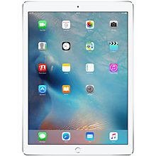 "Buy Apple iPad Pro, A9X, iOS, 12.9"", Wi-Fi & Cellular, 128GB Online at johnlewis.com"