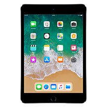 "Buy New Apple iPad mini 4, Apple A8, iOS 9, 7.9"", Wi-Fi, 128GB Online at johnlewis.com"