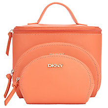 Buy DKNY SLGS Saffiano Leather Travel Set, Orange Online at johnlewis.com
