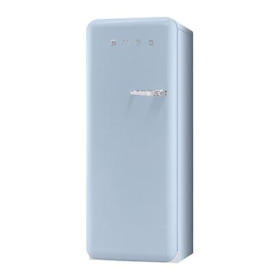 Smeg FAB28YAZ1 Fridge A Energy Rating 60cm Wide LeftHand Hinge Pastel Blue