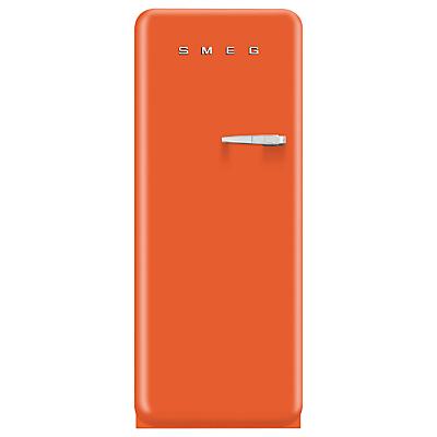 Smeg FAB28YO1 Fridge A Energy Rating 60cm Wide LeftHand Hinge Orange