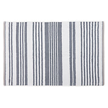 Buy John Lewis Salcombe Stripe Bath Mat, Coastal Blue Online at johnlewis.com