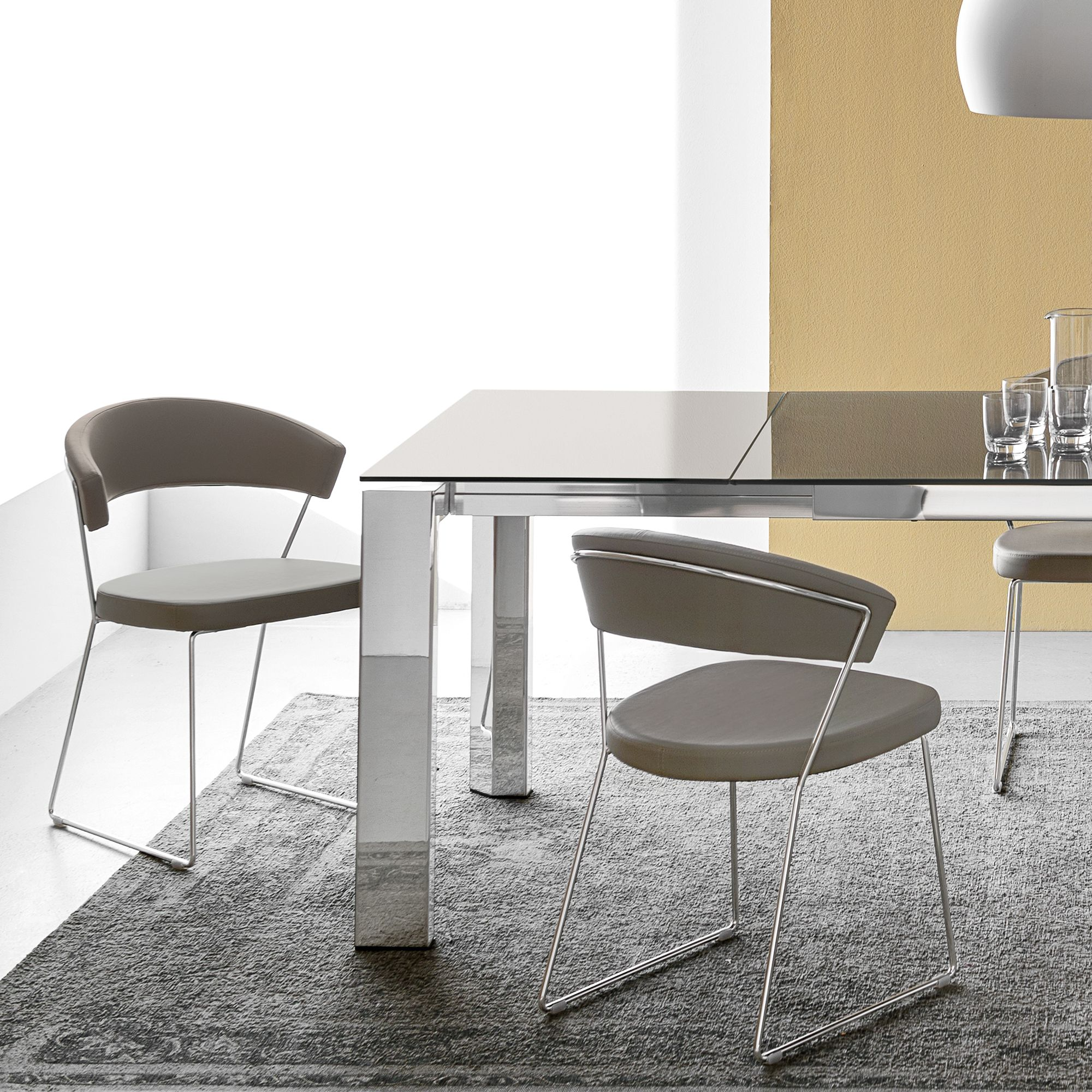 calligaris new york dining chair taupe compare price dining room
