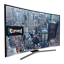 "Buy Samsung UE32J6300 Curved LED Full HD 1080p Smart TV, 32"" with Freeview HD and Built-In Wi-Fi Online at johnlewis.com"